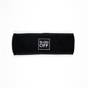 BlushOff Face Wash Head Band - Black