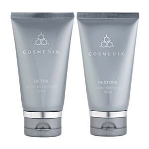 Cosmedix Detox Mask and Restore Mask Duo