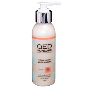 QED Wrinkle Rewind Gentle Exfoliator 125ml