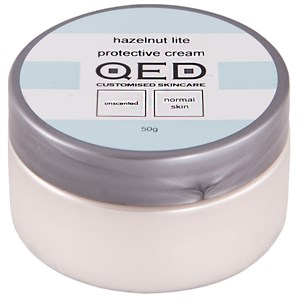 QED Hazelnut Lite Protective Cream 50g