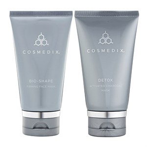 Cosmedix Bio-Shape and Detox Mask Duo