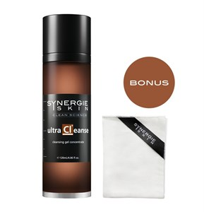 Synergie Ultracleanse 120ml (BONUS Gentle X-Fol Cloth inside Box)