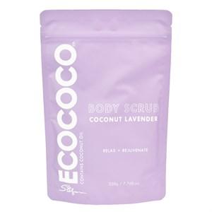 ECOCOCO Lavender Body Scrub 220g
