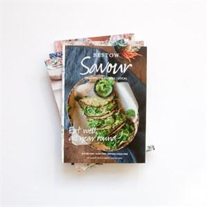 Bestow Savour Vegetarian Recipe Book