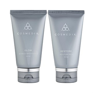 Cosmedix Glow Mask and Restore Mask Duo
