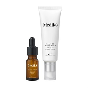 Medik8 Balance Moisturiser and Glycolic Acid Activator 50ml + 5ml