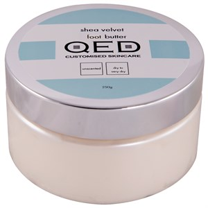 QED Shea Velvet Foot Butter 250ml