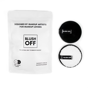 BlushOff Reusable Makeup Remover Pads - 2 Pack