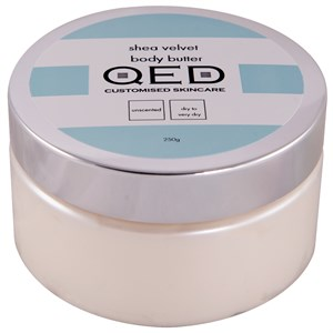 QED Shea Velvet Body Butter 250ml