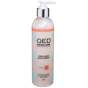 QED Wrinkle Rewind Gentle Exfoliator 300ml