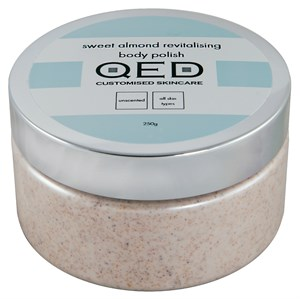 QED Sweet Almond Revitalising Body Polish 250ml