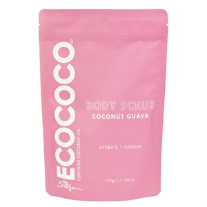 ECOCOCO Guava Body Scrub 220g