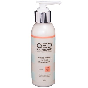 QED Wrinkle Rewind No Rinse Cleansing Milk 125ml