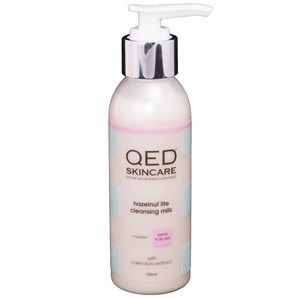 QED Hazelnut Lite Cleansing Milk 125ml