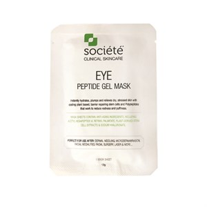 Societe Eye Peptide Gel Mask (10 Mask Sheets)