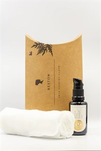 Bestow The Graces Nourishing Facial Oil and Soaking Cloth Twin Pack