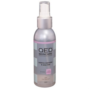 QED Sublime Rosewater and Aloe Mist 125ml