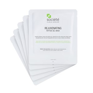 Societe Rejuvenating Peptide Gel Mask (5 Pack)